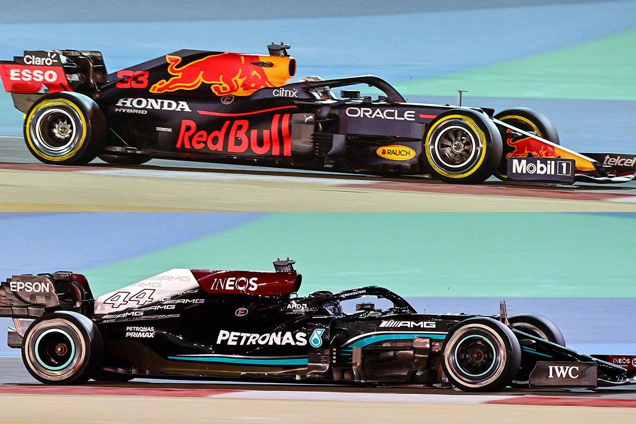 2021年F1マシン:勢力図を変えた空力ルールの変更点をおさらい