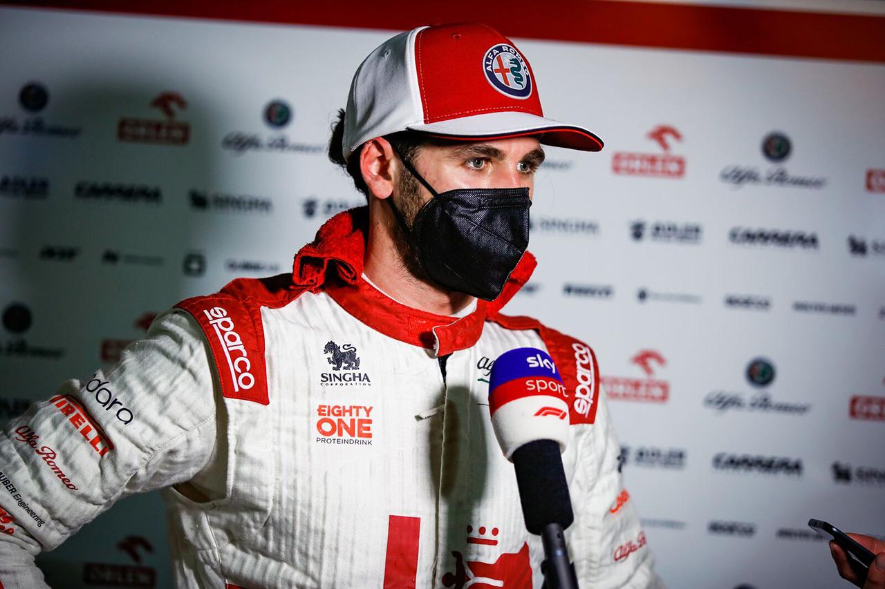 アントニオ・ジョヴィナッツィ 「ホームでポイント獲得をスタートしたい」 / アルファロメオF1 2021年 F1エミリア・ロマーニャGP