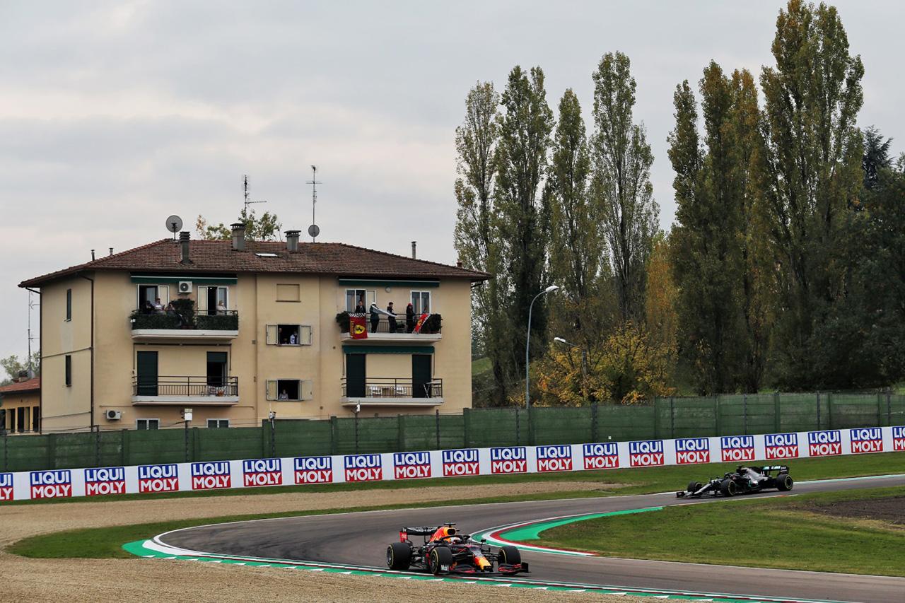 2021年 F1エミリア・ロマーニャGP:DRSゾーンを延長 / イモラ・サーキット