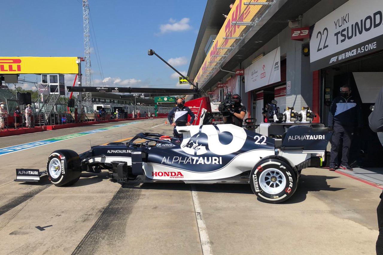 【速報】 F1エミリア・ロマーニャGP FP1 結果:フェルスタッペン3番手。角田裕毅は20番手