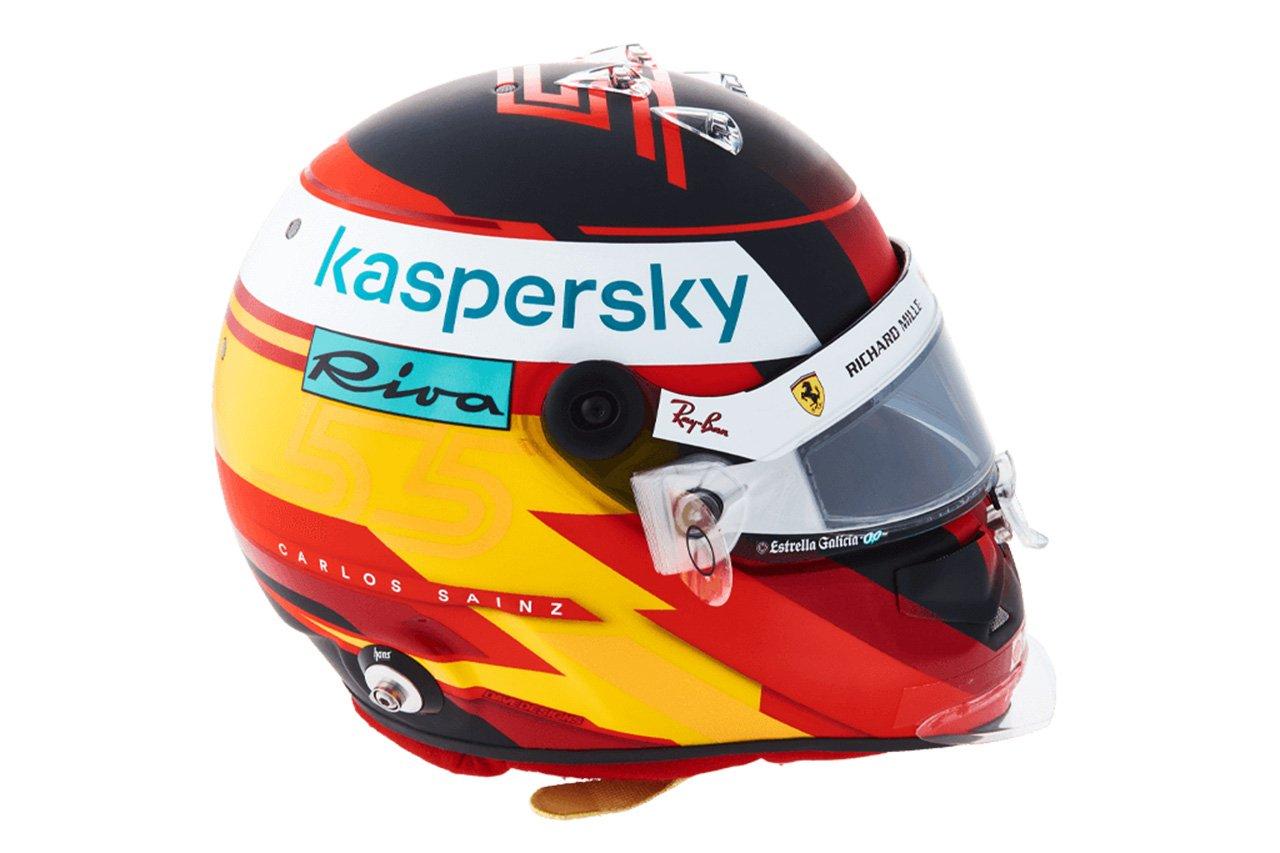 カルロス・サインツ:2021年 F1ヘルメット