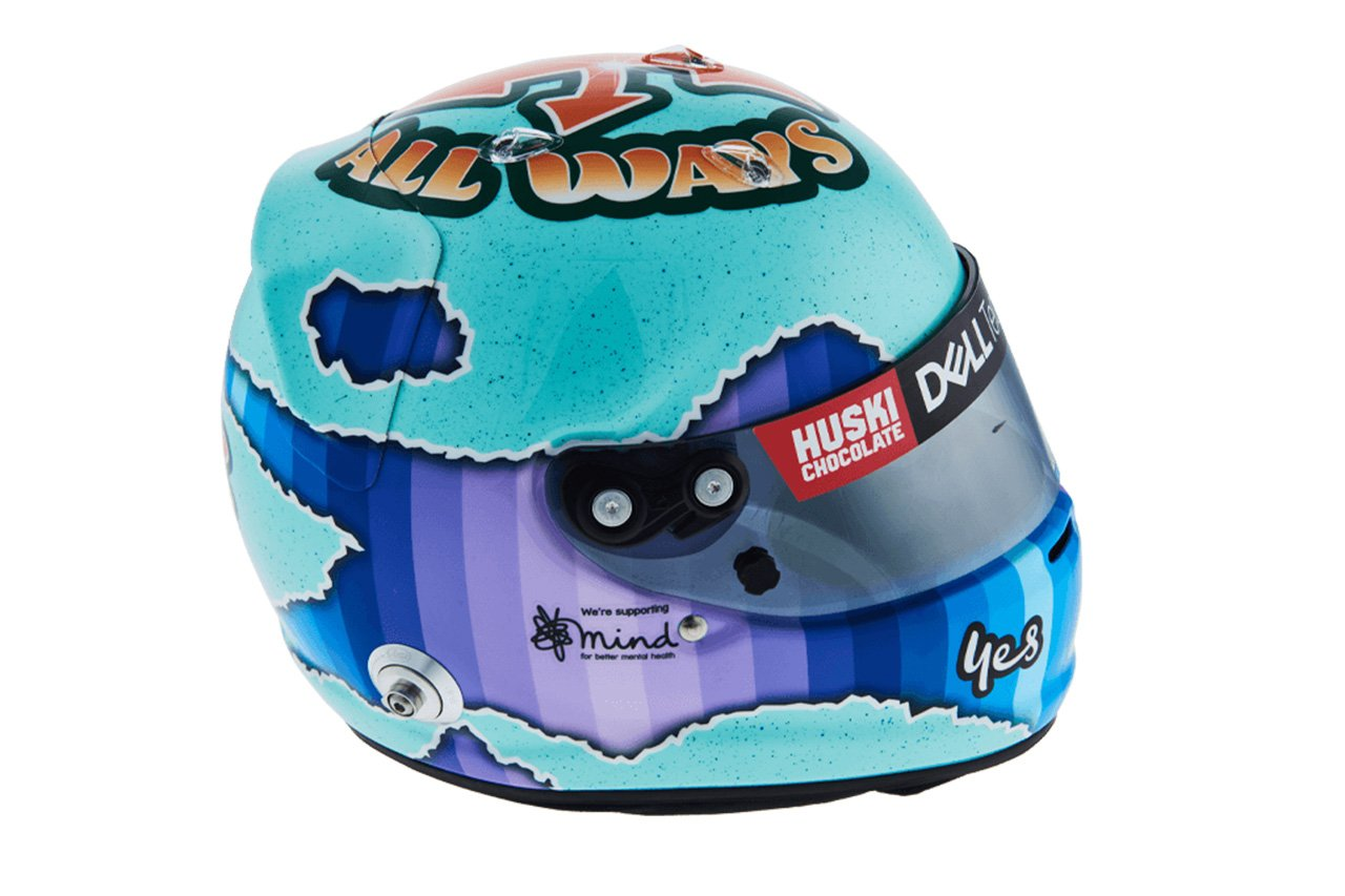 ダニエル・リカルド:2021年 F1ヘルメット