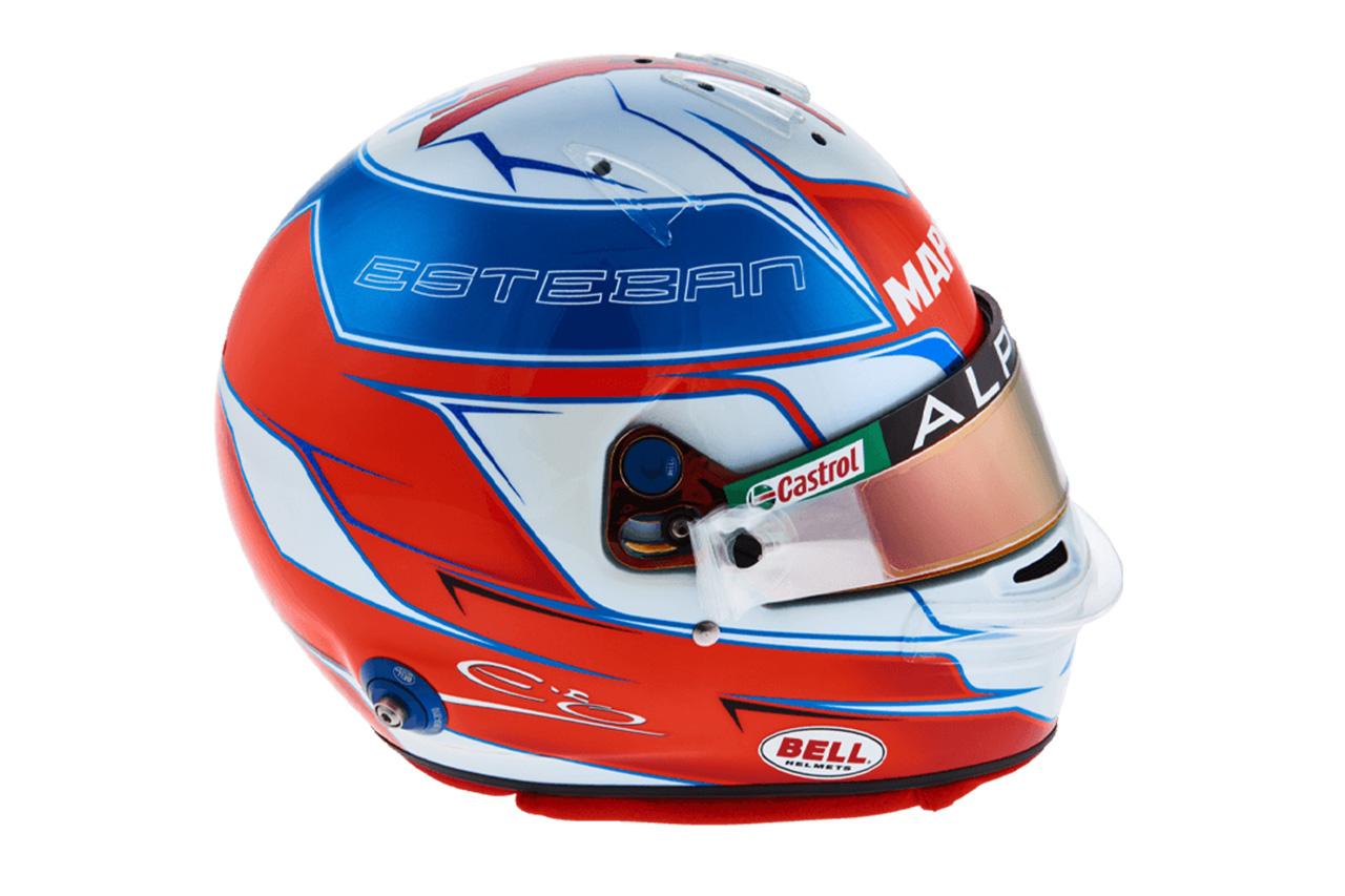 エステバン・オコン:2021年 F1ヘルメット
