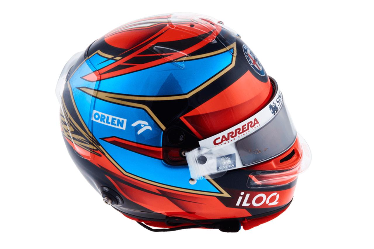 キミ・ライコネン:2021年 F1ヘルメット