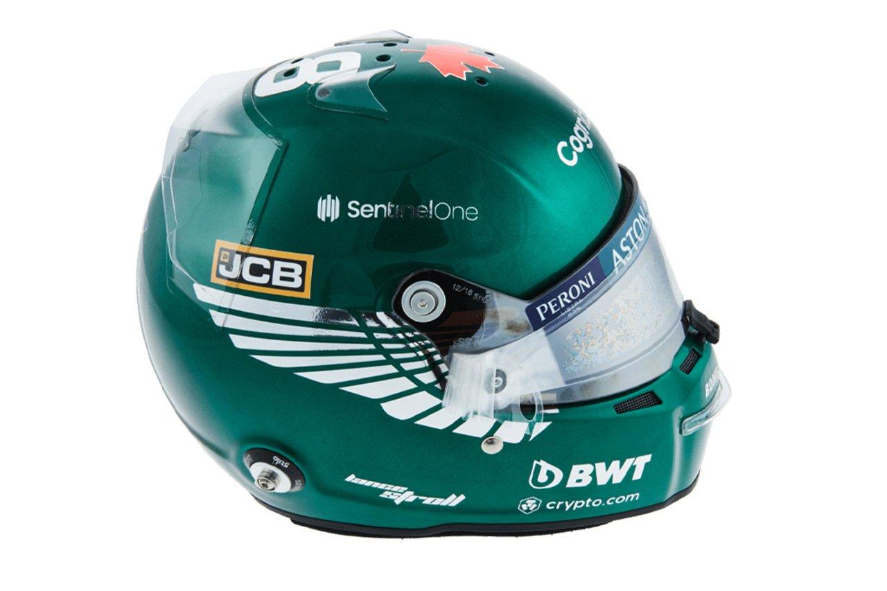 ランス・ストロール:2021年 F1ヘルメット