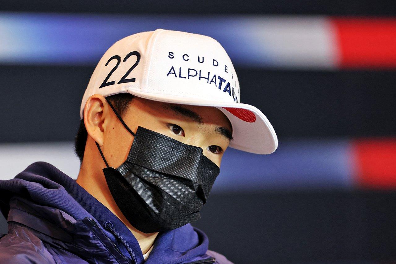 角田裕毅 「デビュー戦は10点満点で5点。イモラではQ3進出を目指す」 / アルファタウリ・ホンダ F1エミリア・ロマーニャGP 木曜記者会見