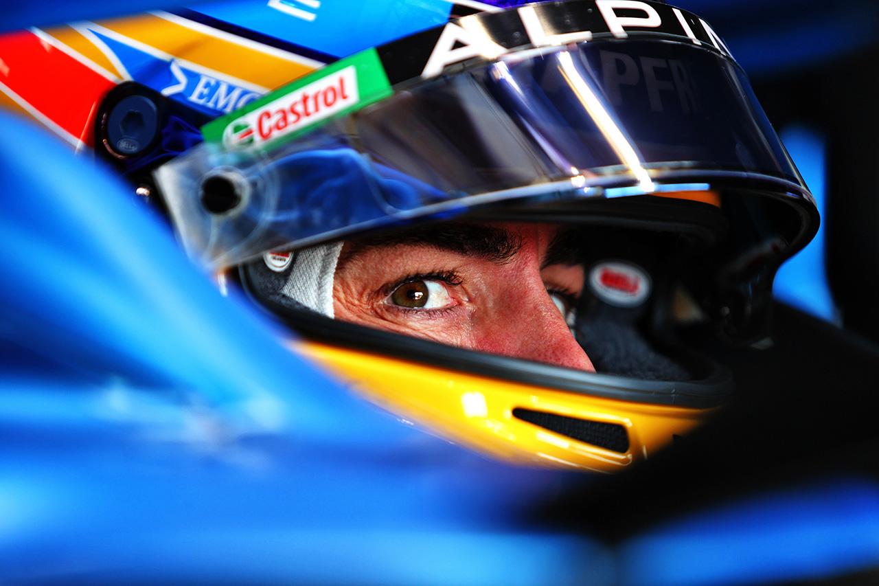 フェルナンド・アロンソ、チームメイトに敗北「十分な速さがなかった」 / アルピーヌ F1エミリア・ロマーニャGP 予選