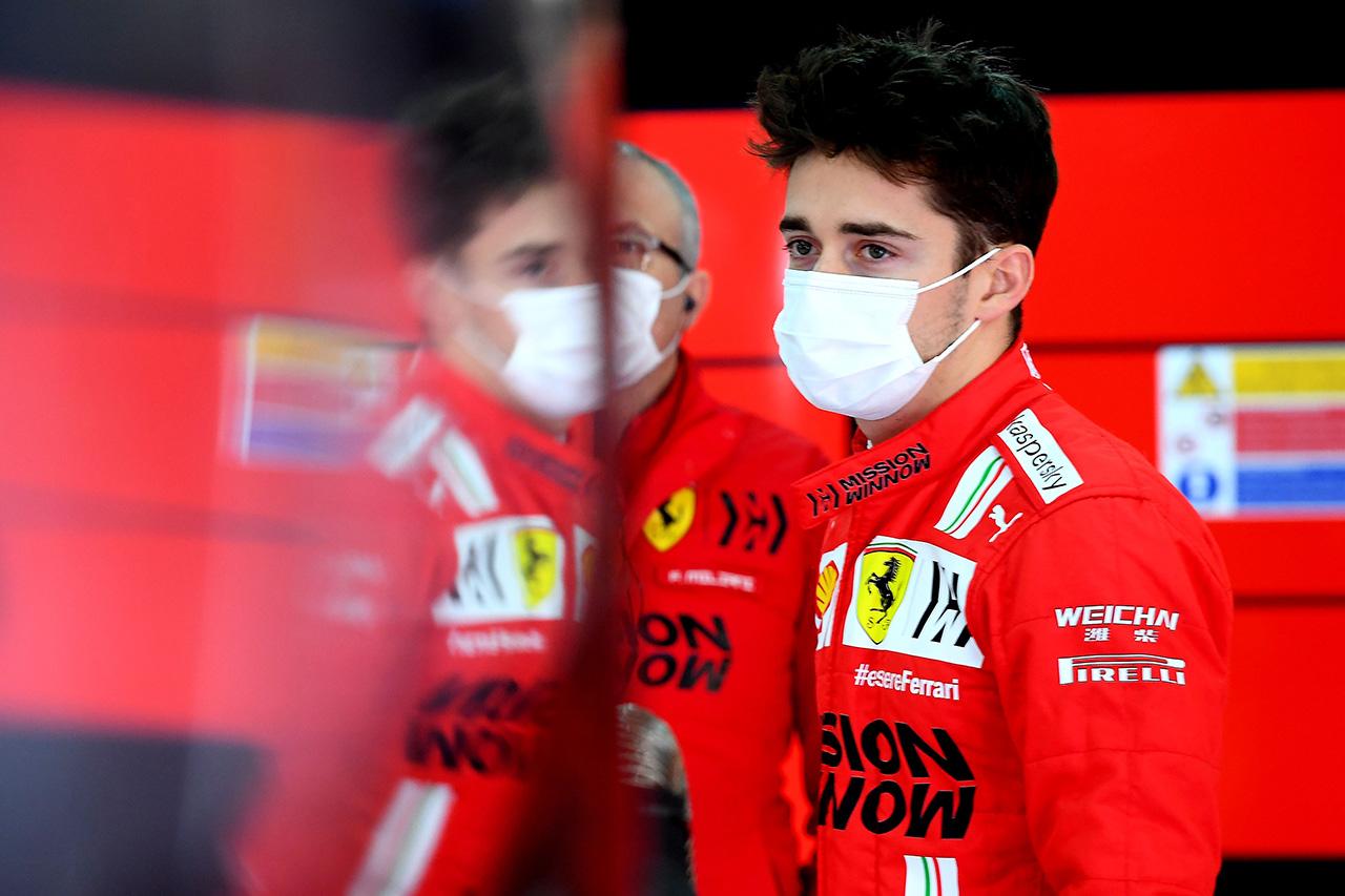 シャルル・ルクレール、予選4番手 「決勝用にセットアップを少し妥協した」 / フェラーリ F1エミリア・ロマーニャGP 予選
