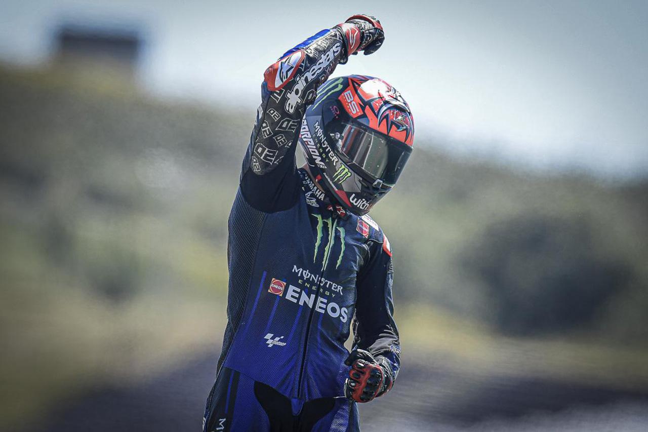 MotoGP ポルトガルGP 結果:ファビオ・クアルタラロが2連勝