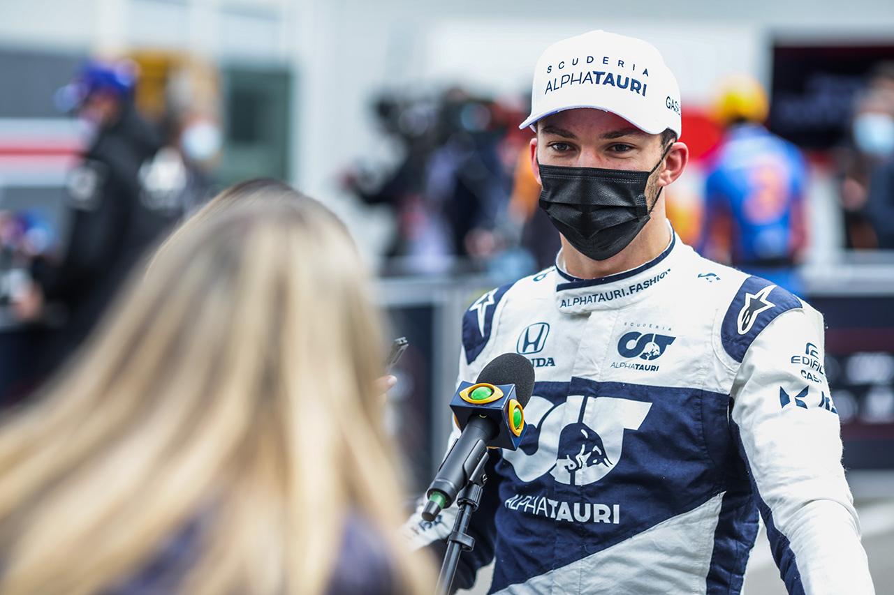 ピエール・ガスリー、予選5番手「Q3で全力を出せたことに満足」 / アルファタウリ・ホンダ F1エミリア・ロマーニャGP 予選