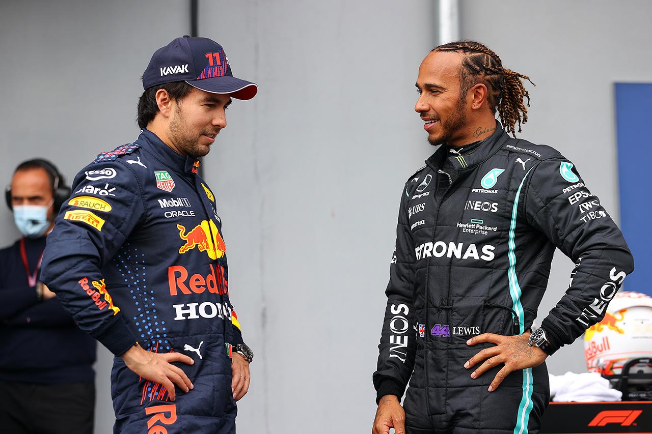 セルジオ・ペレス、初フロントロー 「チームと重ねてきた努力が報われた」 / レッドブル・ホンダ F1エミリア・ロマーニャGP 予選