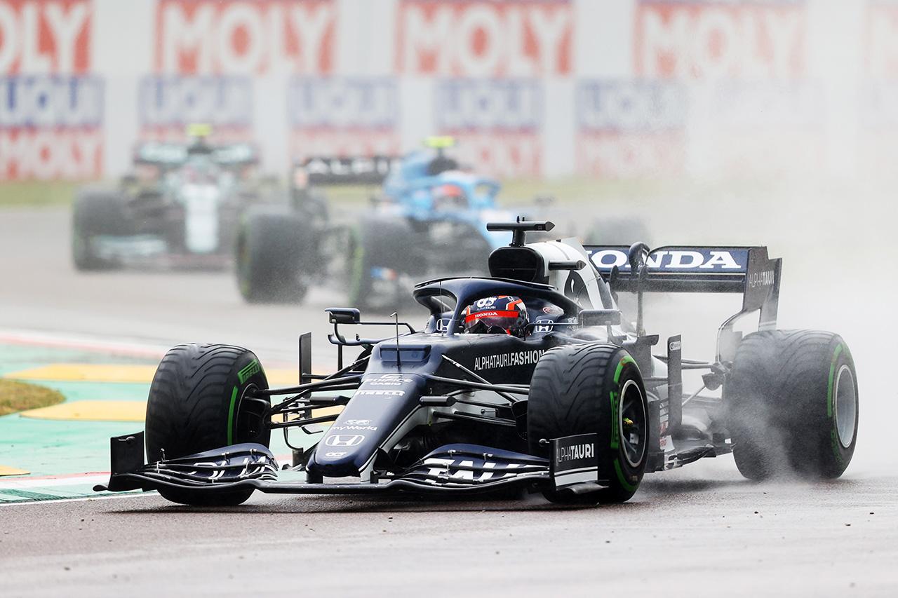 アルファタウリ・ホンダF1 「マシンに見合ったポイントを獲得できなかった」 / F1エミリア・ロマーニャGP 決勝