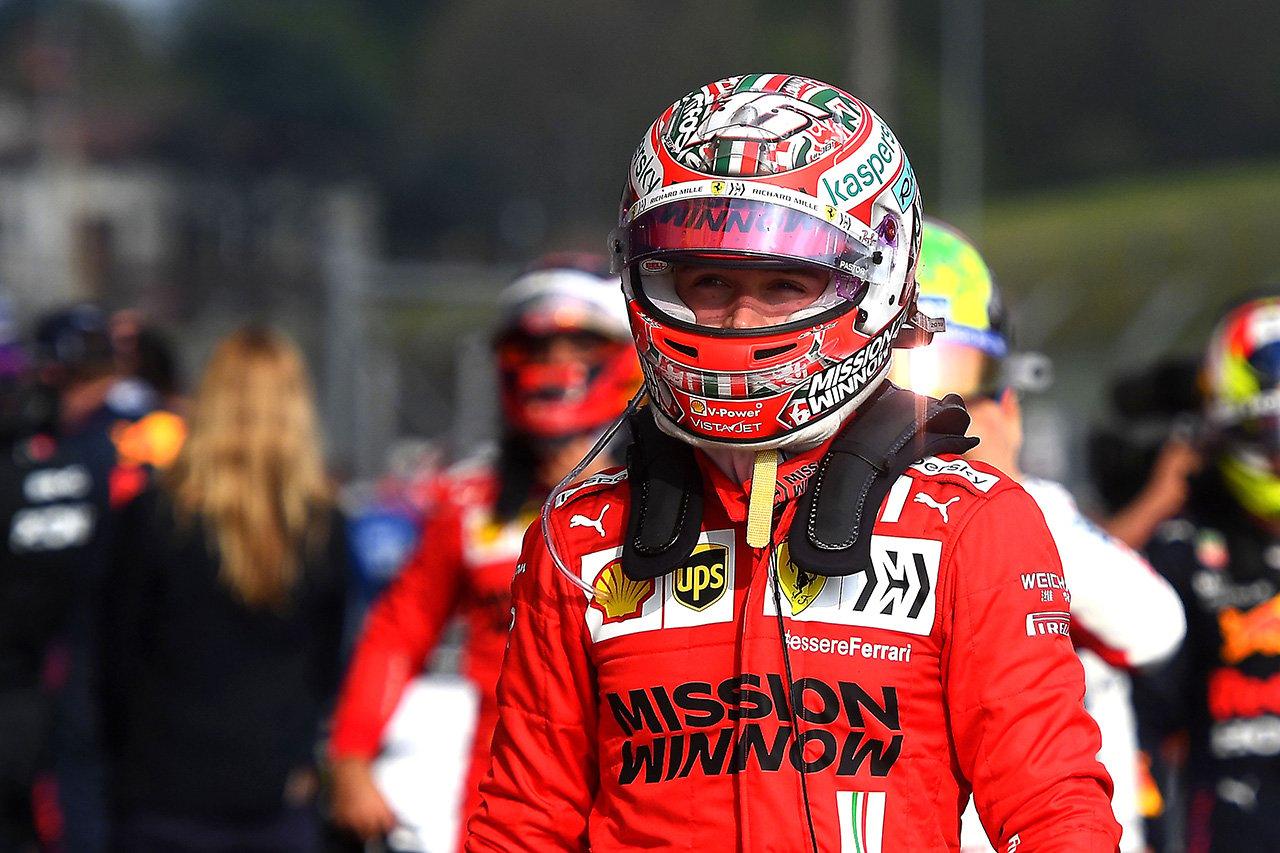 シャルル・ルクレール、表彰台にあと一歩 「ストレートで脆弱だった」 / フェラーリ F1エミリア・ロマーニャGP 決勝