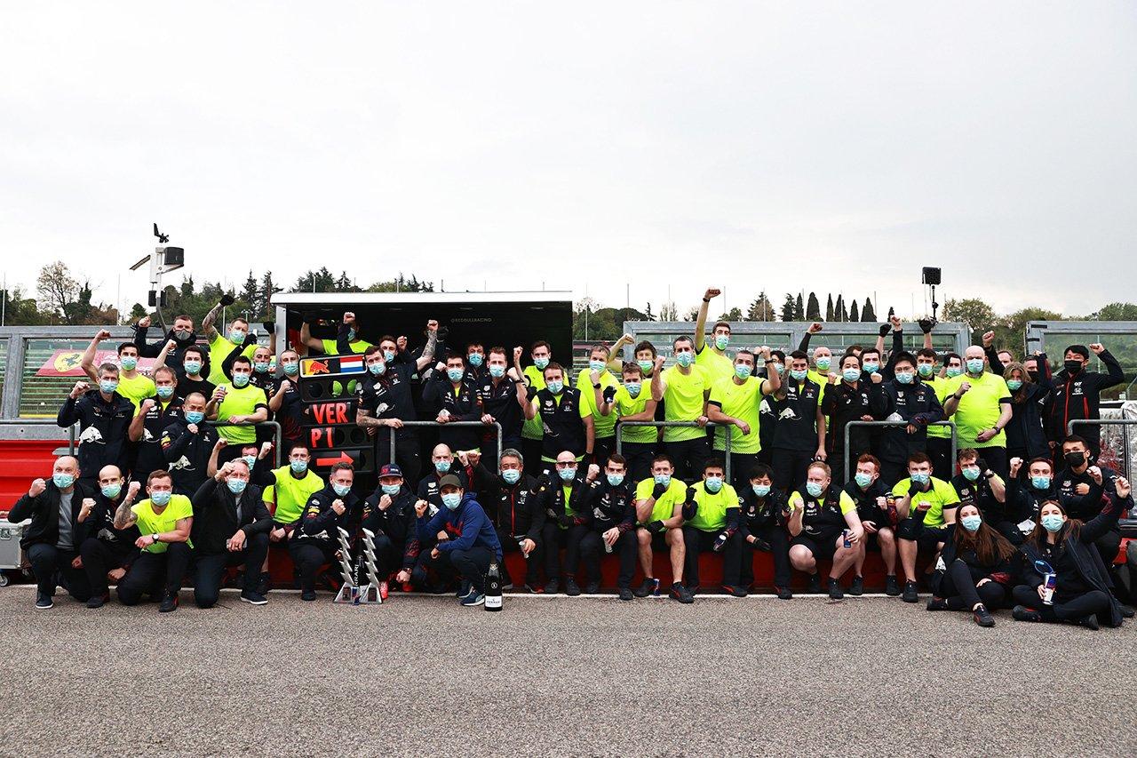 ホンダF1、1991年のアイルトン・セナ選手以来のイモラでの勝利 / F1エミリア・ロマーニャGP 決勝