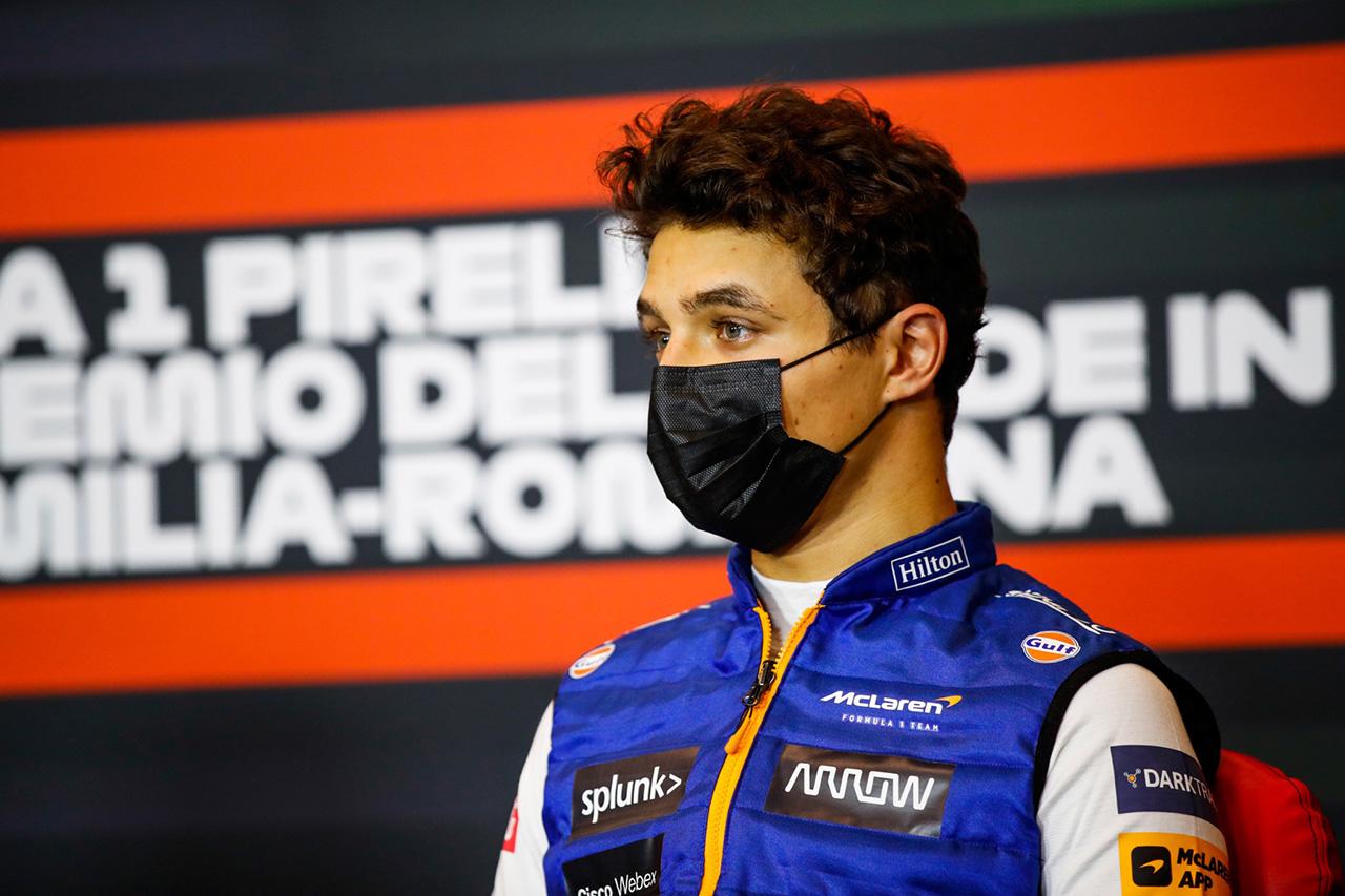 ランド・ノリス、自身2度目の表彰台「ほぼ完璧なパフォーマンス」 / マクラーレン F1エミリア・ロマーニャGP 決勝