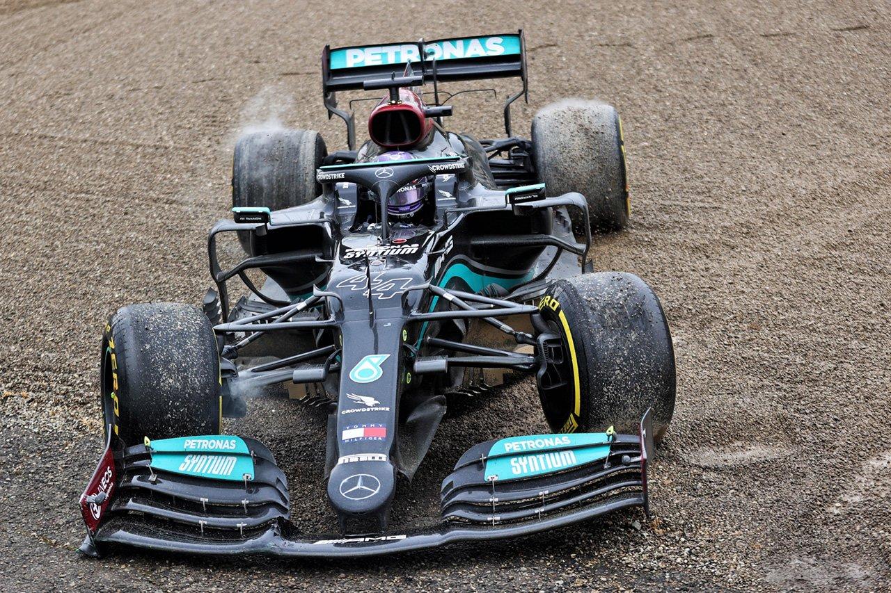 ルイス・ハミルトン、圧巻の挽回劇「レースが終わったとは思わなかった」 / メルセデス F1エミリア・ロマーニャGP 決勝