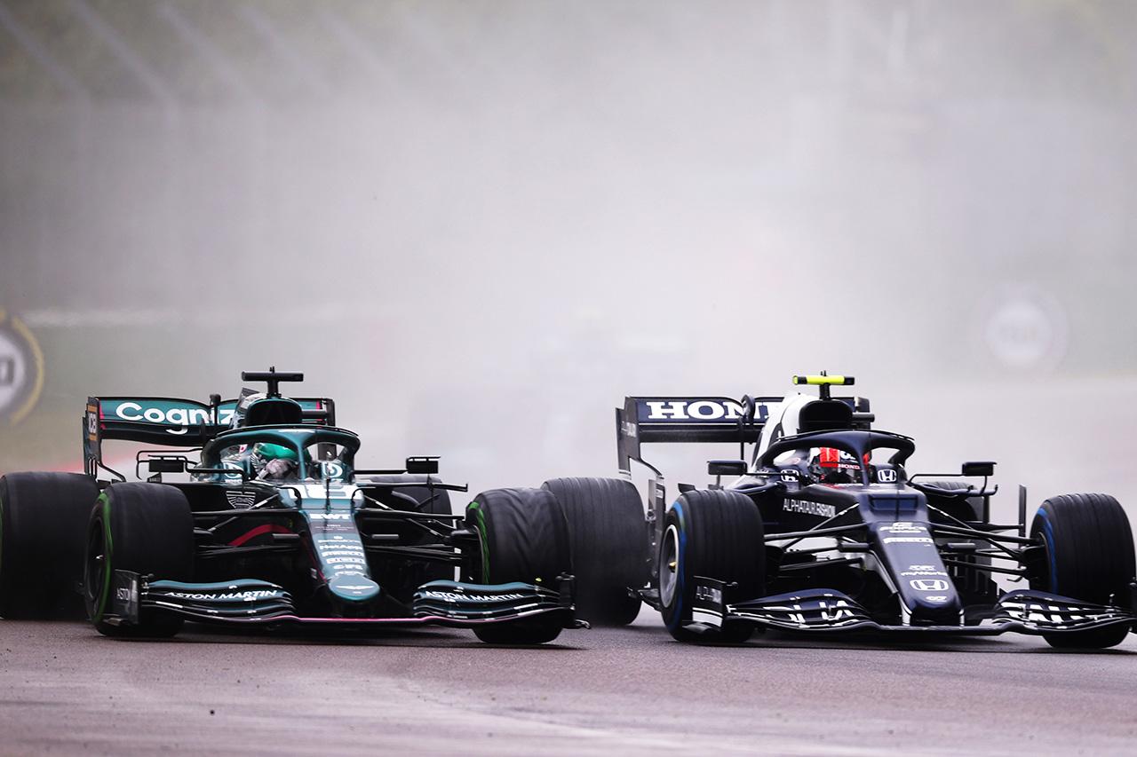 F1エミリア・ロマーニャGP:ストロールに5秒加算でガスリーが7位に昇格