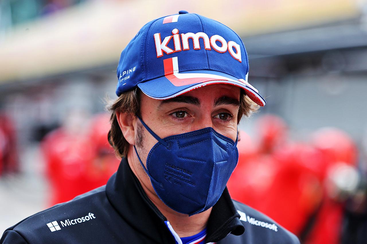 フェルナンド・アロンソ、F1復帰に苦戦「正しいレベルではない」