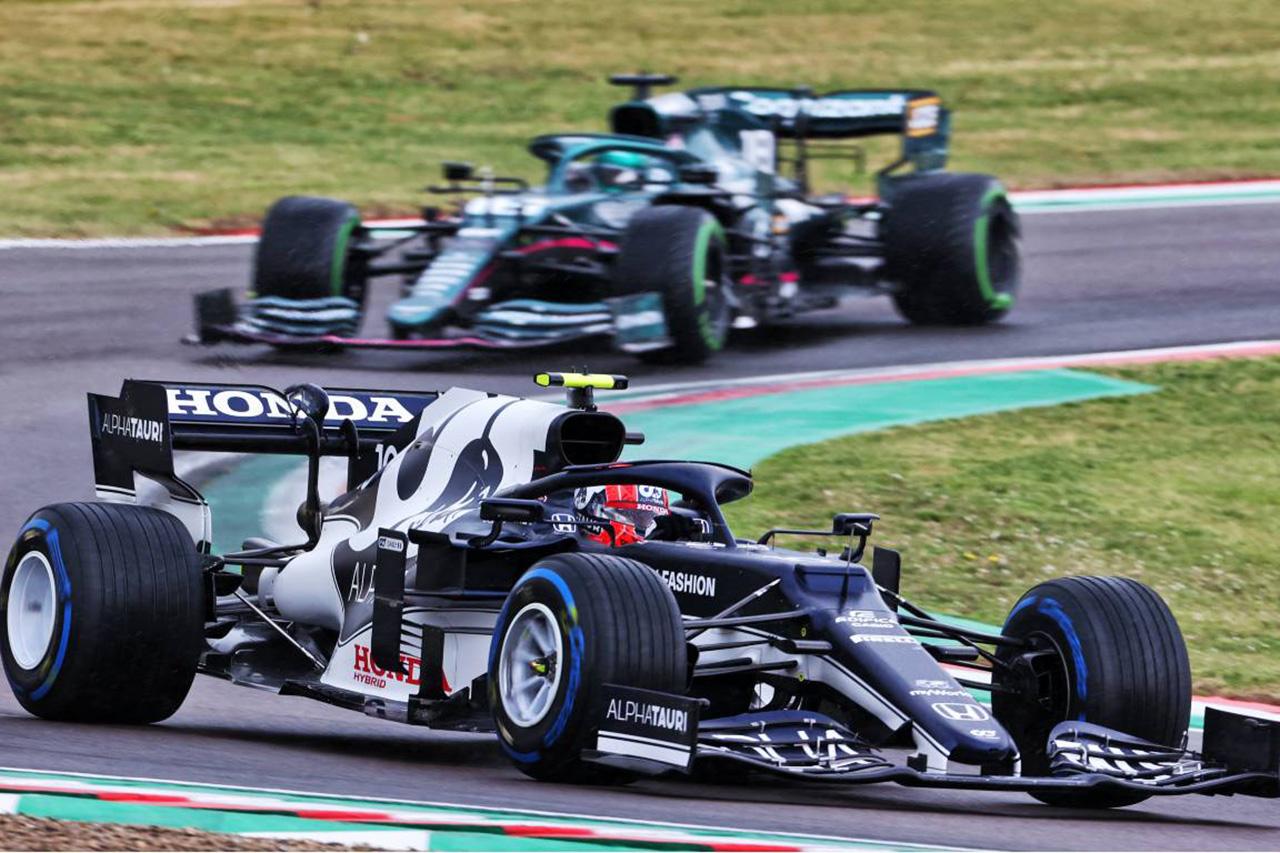 ピエール・ガスリー 「フルウエットでのスタートには自分も賛成していた」 / F1エミリア・ロマーニャGP アルファタウリ・ホンダF1