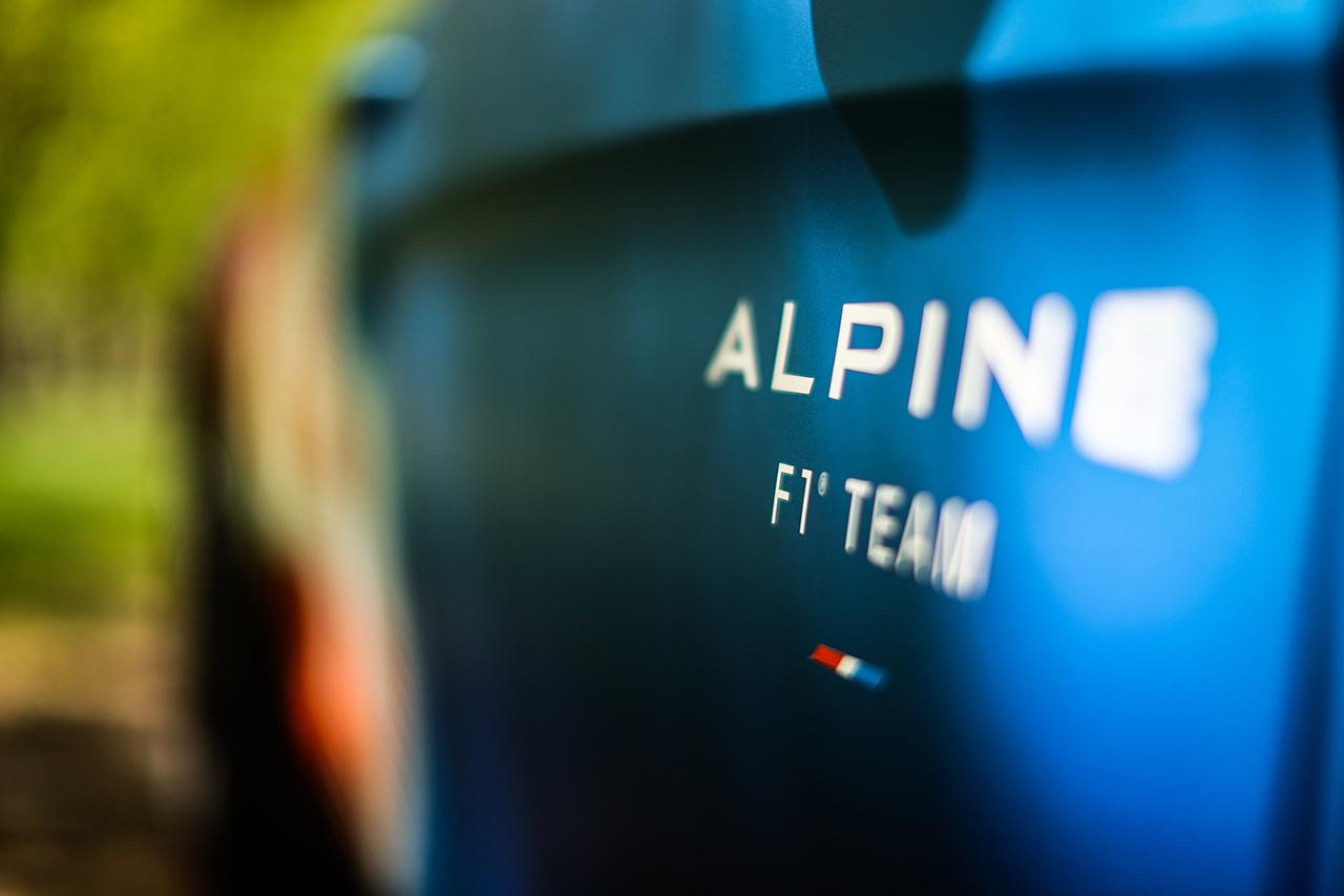 アルピーヌ A110 トラックサイドカー