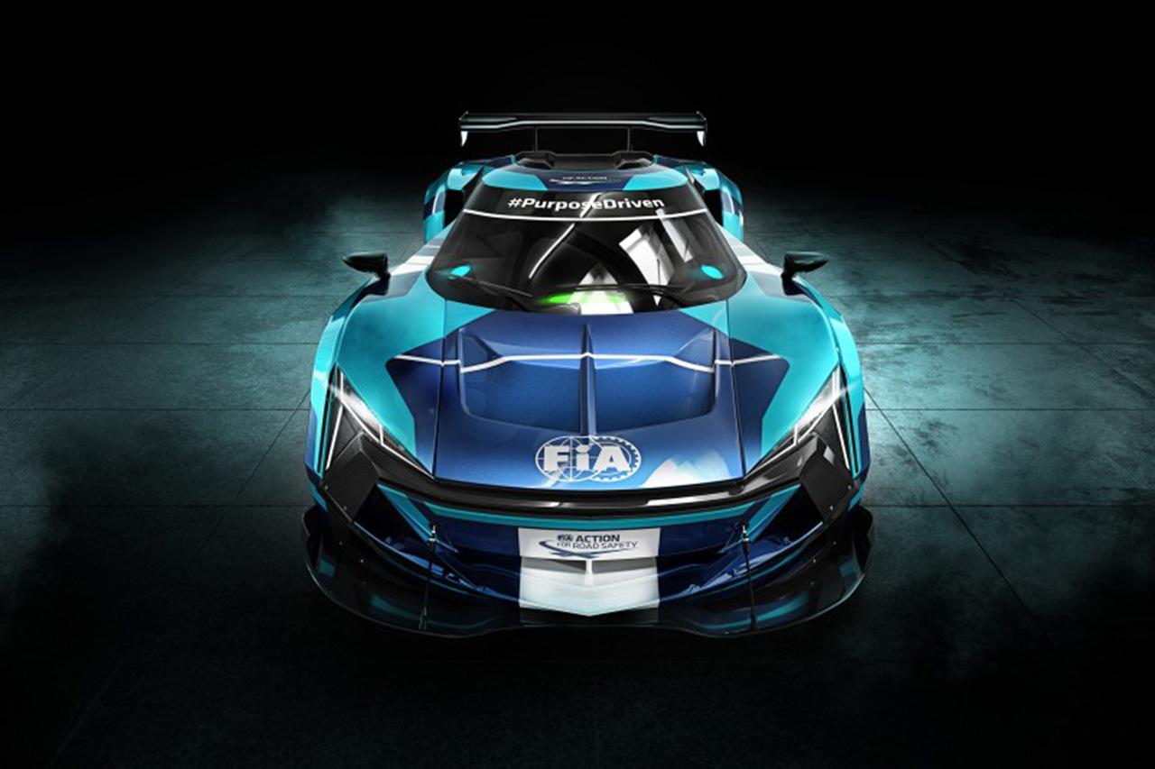 """FIA、電動GTカーによる""""革新的""""な新シリーズの技術詳細を発表"""