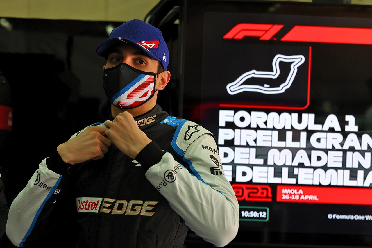 アルピーヌF1のエステバン・オコン 「チーム内での扱いはアロンソと平等」