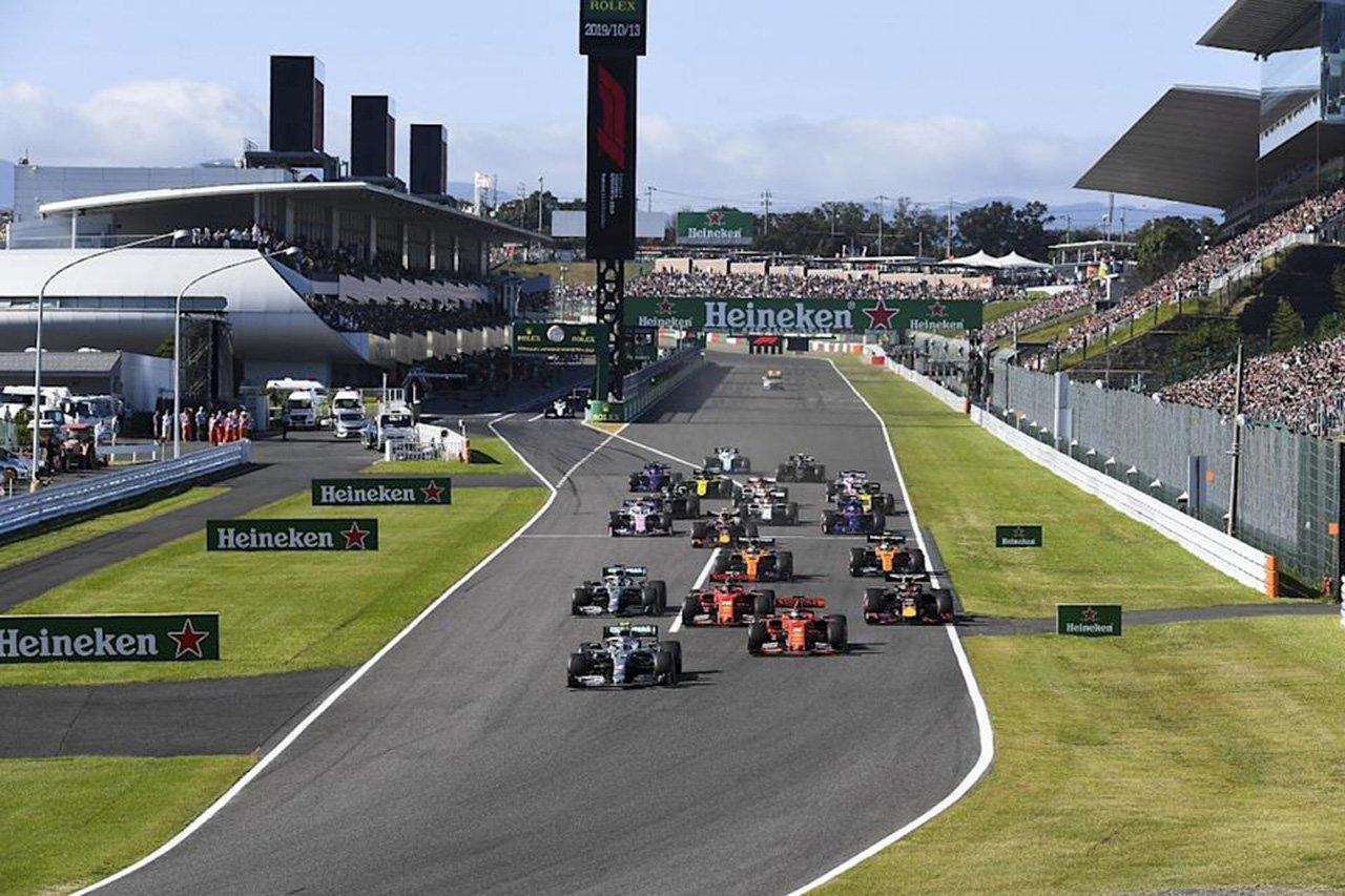 鈴鹿サーキット、F1日本GPの開催契約を2024年まで3年間延長!