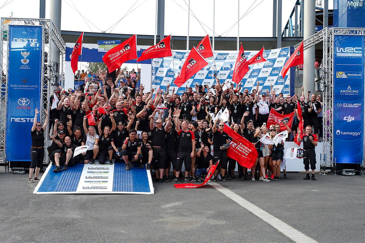 トヨタ:WRC 第2戦 豊田章男チームオーナー コメント