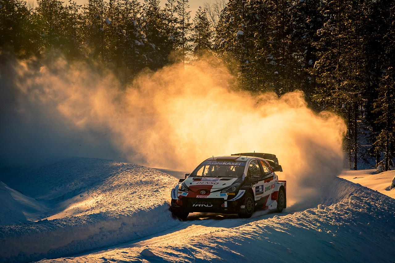 トヨタ:WRC 第2戦アークティック・ラリー・フィンランド デイ2 レポート