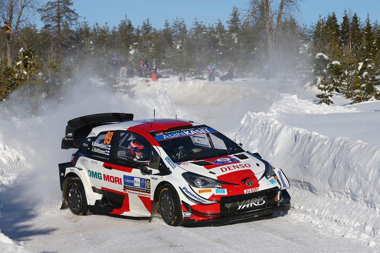 トヨタ:WRC 第2戦アークティック・ラリー・フィンランド デイ3 レポート