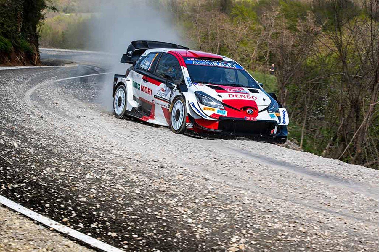 トヨタ:WRC 第3戦 クロアチア・ラリー デイ1 レポート
