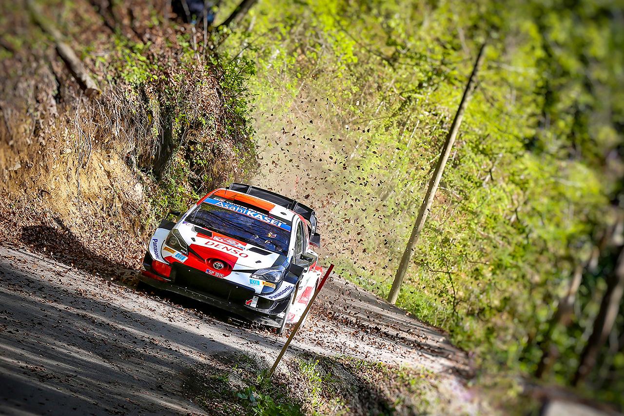 トヨタ:WRC 第3戦 クロアチア・ラリー デイ2 レポート