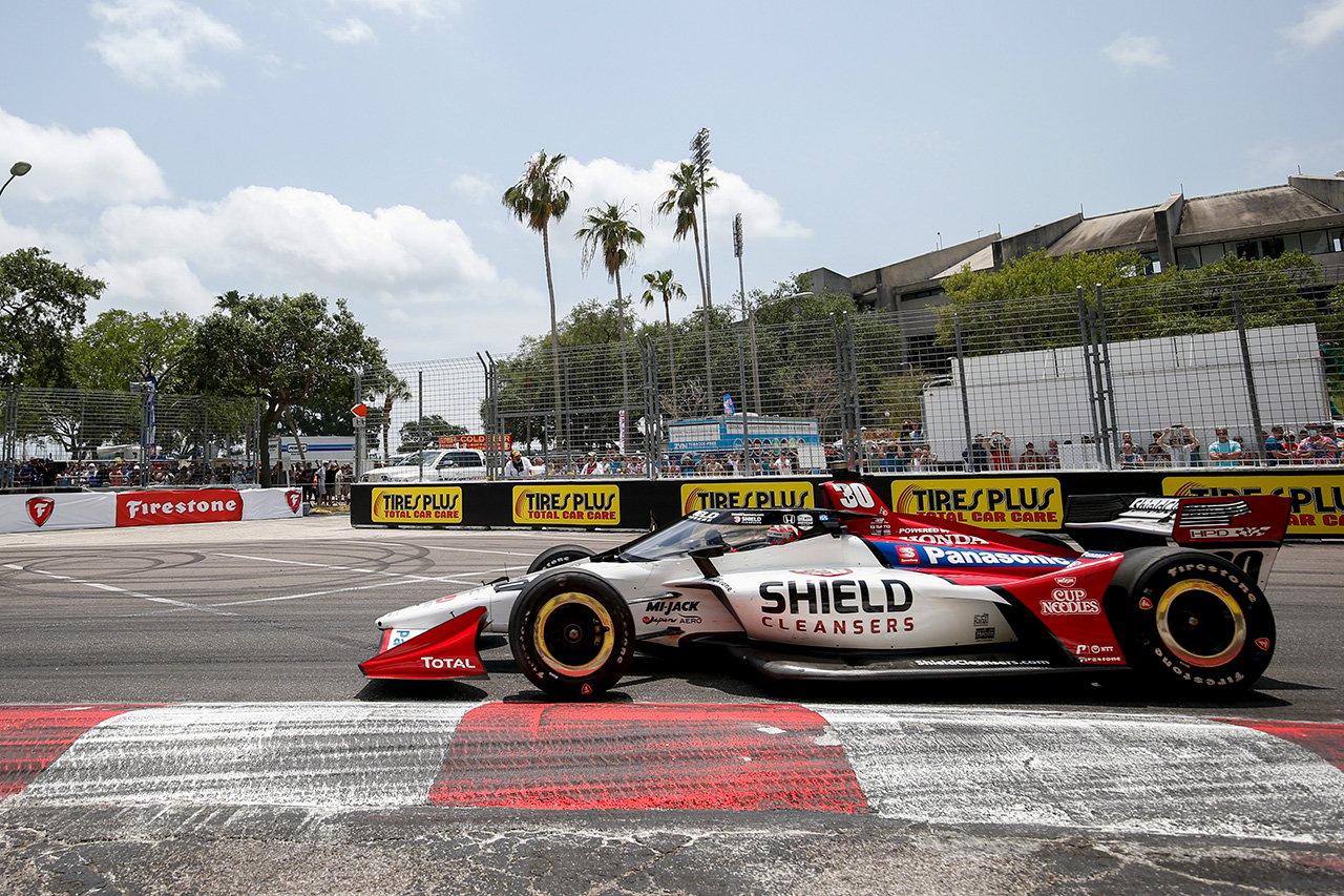 佐藤琢磨、6位入賞「チームの作戦が的確でタイヤチョイスも正しかった」  / 第2戦 セントピーターズバーグ