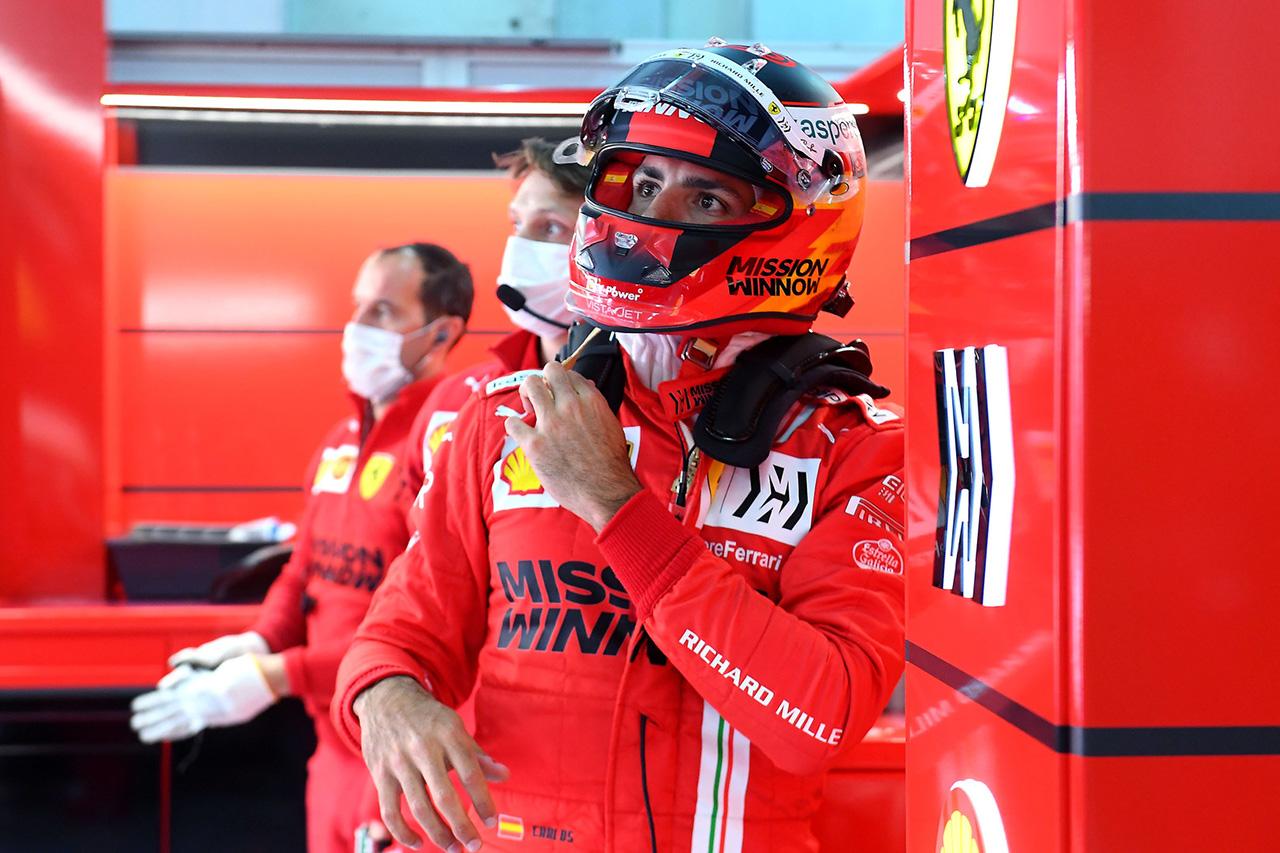 フェラーリF1のカルロス・サインツ 「まだマクラーレン時代の自分とは程遠い状態」