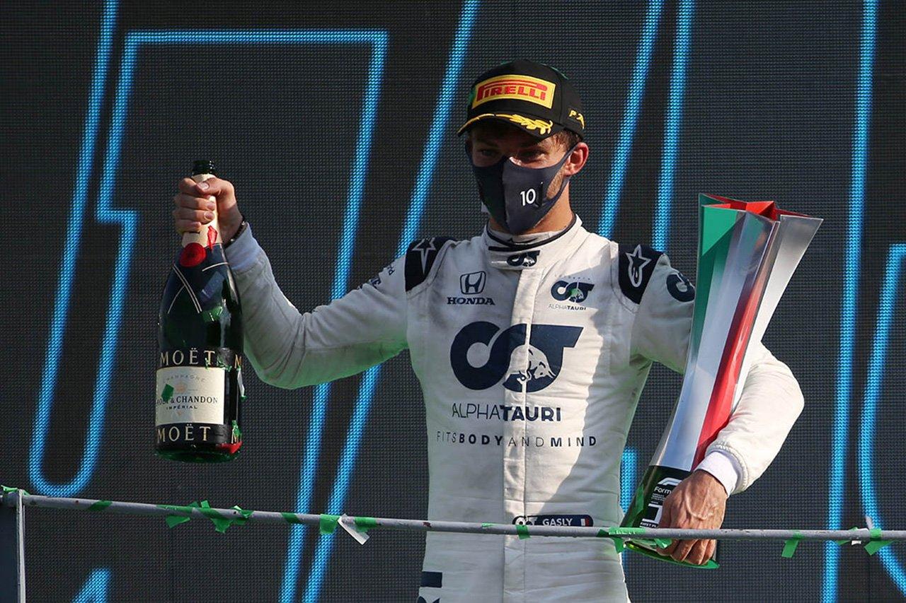 アルファタウリ・ホンダF1のピエール・ガスリー 「トラブルがなければハミルトンが全勝していた」