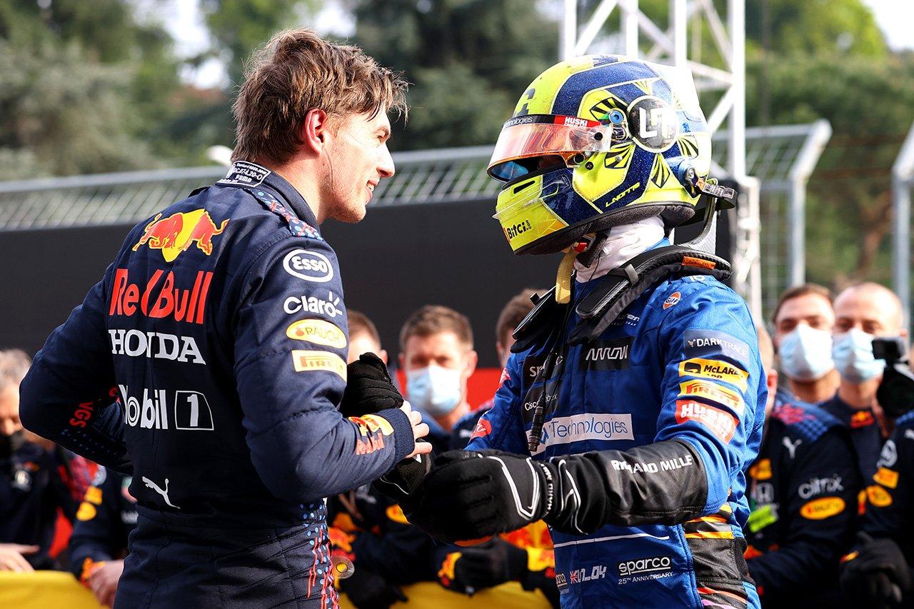 マクラーレンF1のランド・ノリス 「メルセデスやレッドブル・ホンダと戦えるペースはある」