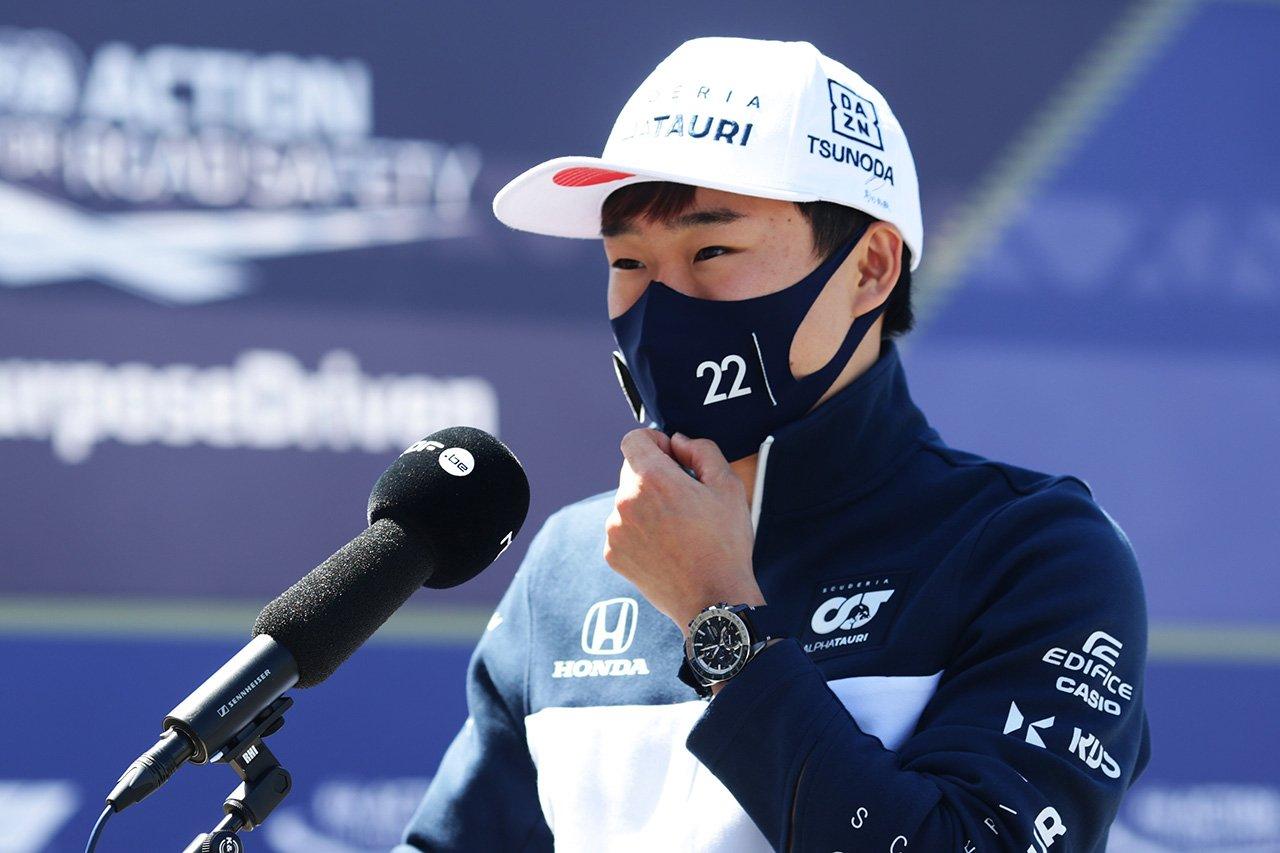 角田裕毅 「イモラのミスは繰り返さない。アプローチを変える必要がある」 / アルファタウリ・ホンダ F1ポルトガルGP 木曜記者会見