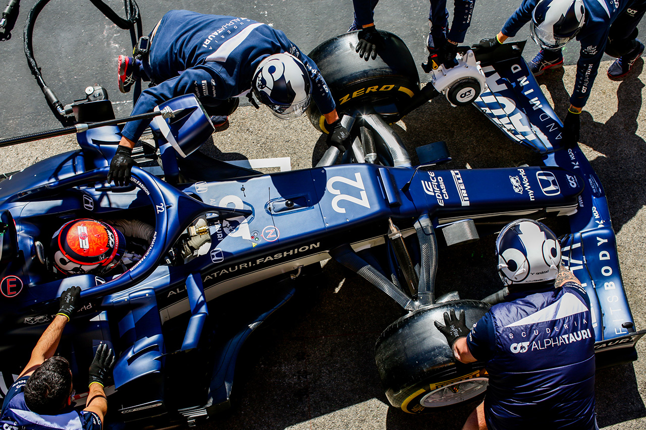 アルファタウリ・ホンダF1 「ソフトタイヤの攻略が鍵を握る」 / F1ポルトガルGP 金曜フリー走行