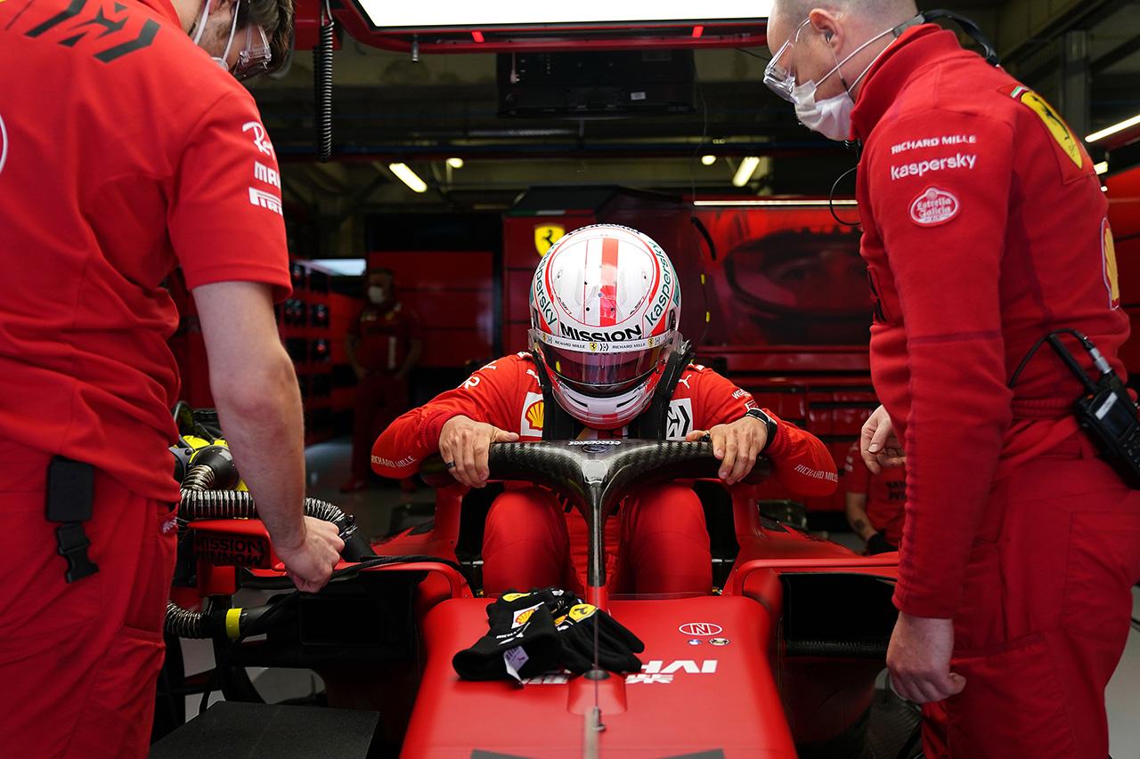 フェラーリF1、ドライバー間の優劣を避けるために新型フロアを見送り / F1ポルトガルGP