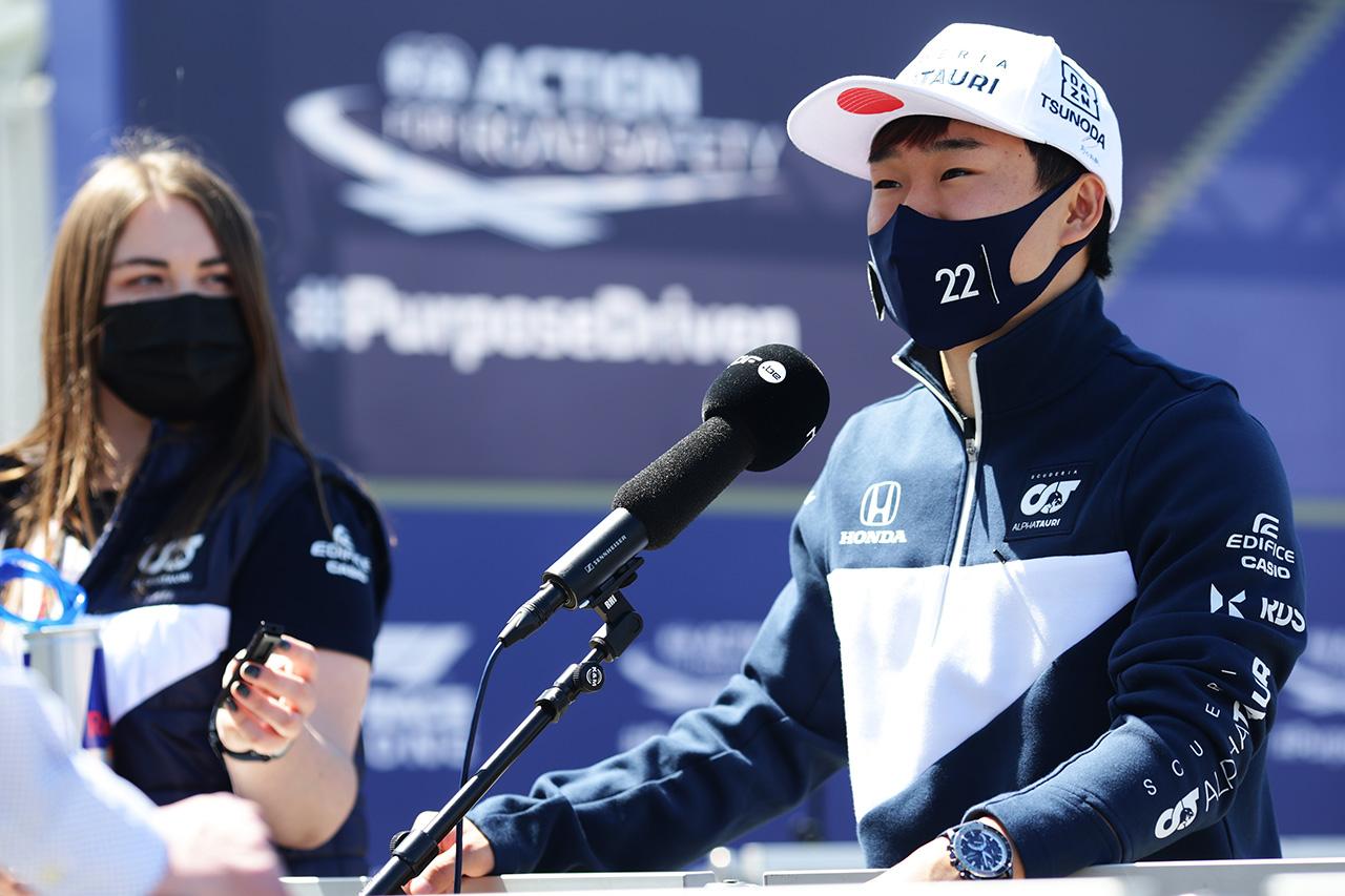 F1:マックス・フェルスタッペン 「角田裕毅にはメンタルの強さがある」