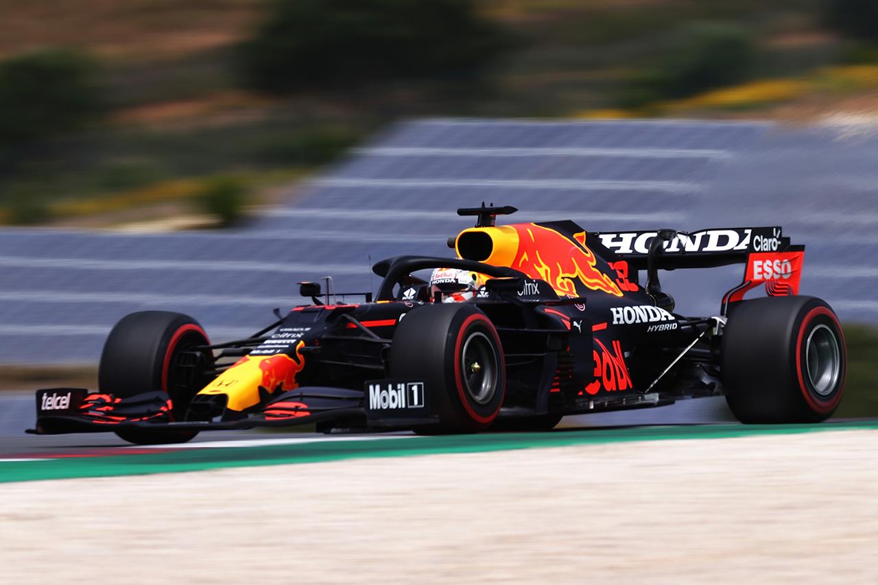 F1ポルトガルGP フリー走行3回目:レッドブルF1のフェルスタッペンが最速。メルセデスの2台を含めトップ5が0.4秒以内の混戦