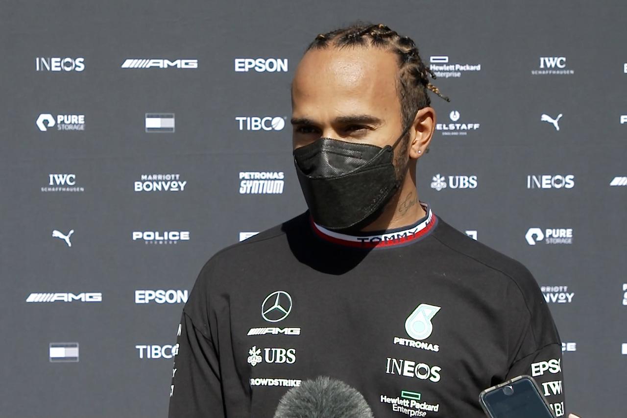 ルイス・ハミルトン 「レッドブル・ホンダとのポール争いは接戦になる」 / メルセデス F1ポルトガルGP 金曜フリー走行