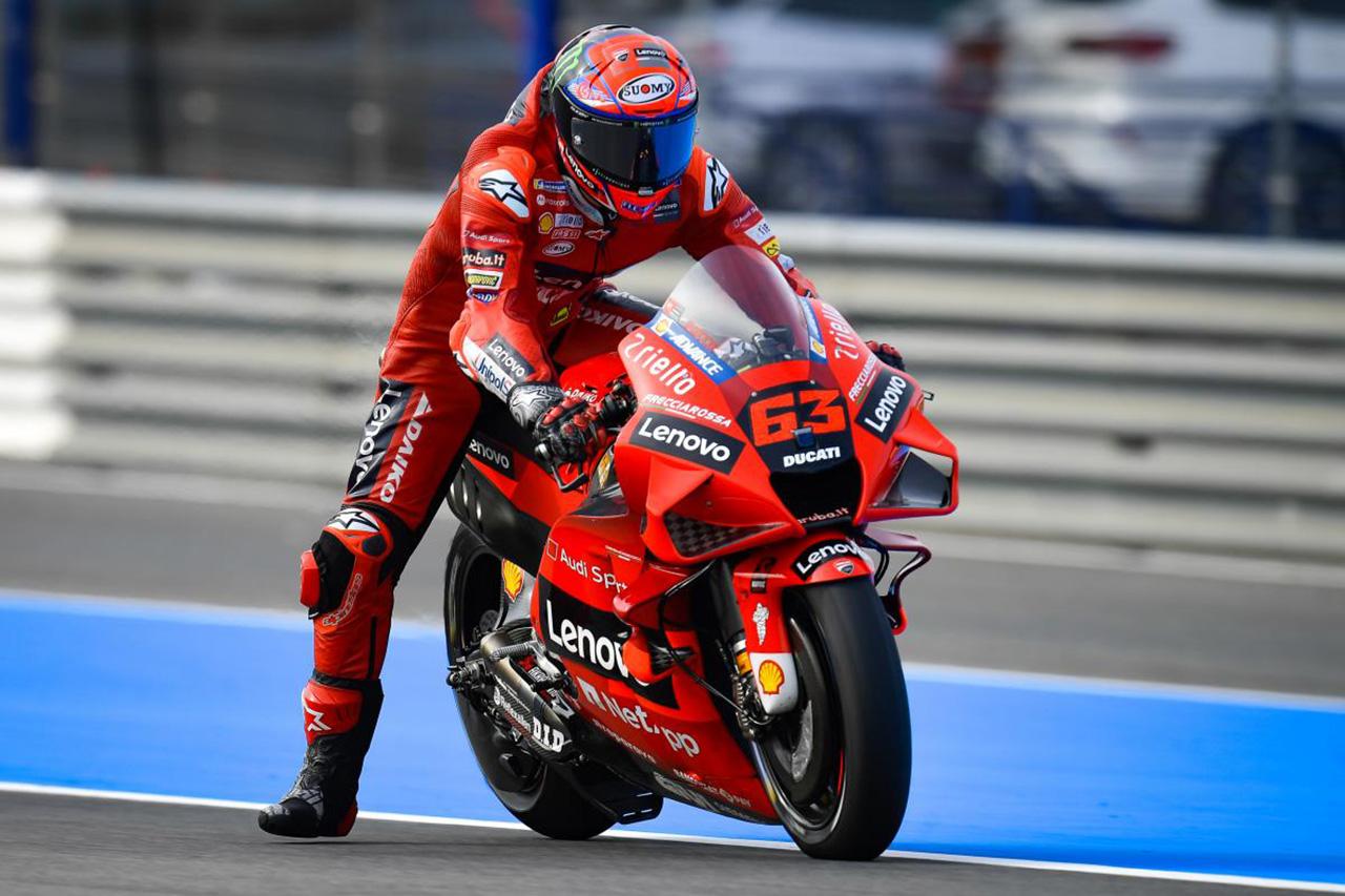 MotoGP 第4戦 スペインGP:フランチェスコ・バグナイアが初日総合1番手