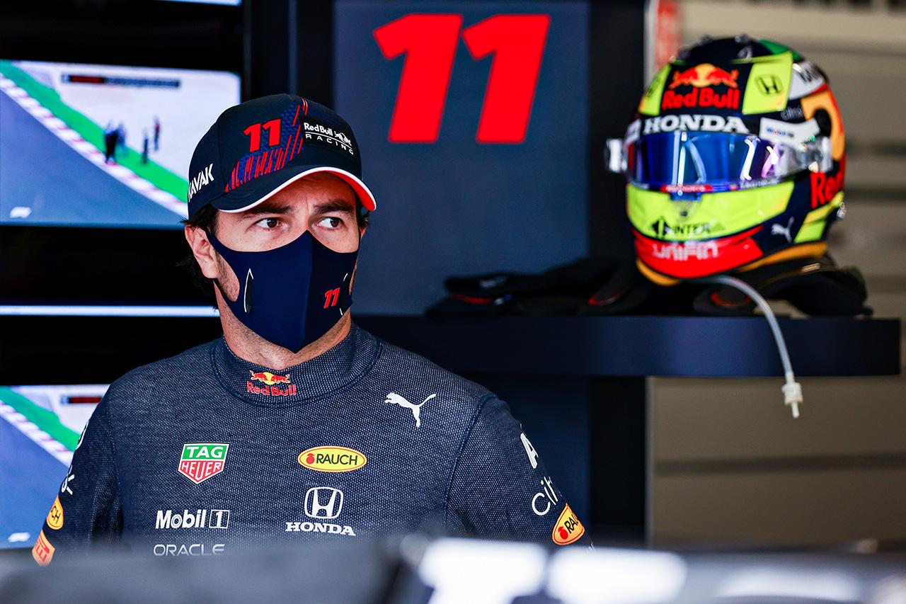 セルジオ・ペレス 「ポールポジション争いに絡めればと思う」 / レッドブル・ホンダ F1ポルトガルGP 金曜フリー走行