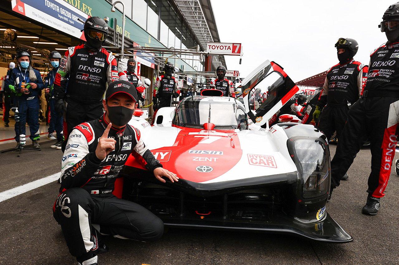 WEC:ハイパーカー初の予選でトヨタ GR010 HYBRIDが最前列1-2グリッドを獲得。小林可夢偉がアタックした7号車が初ポールポジション
