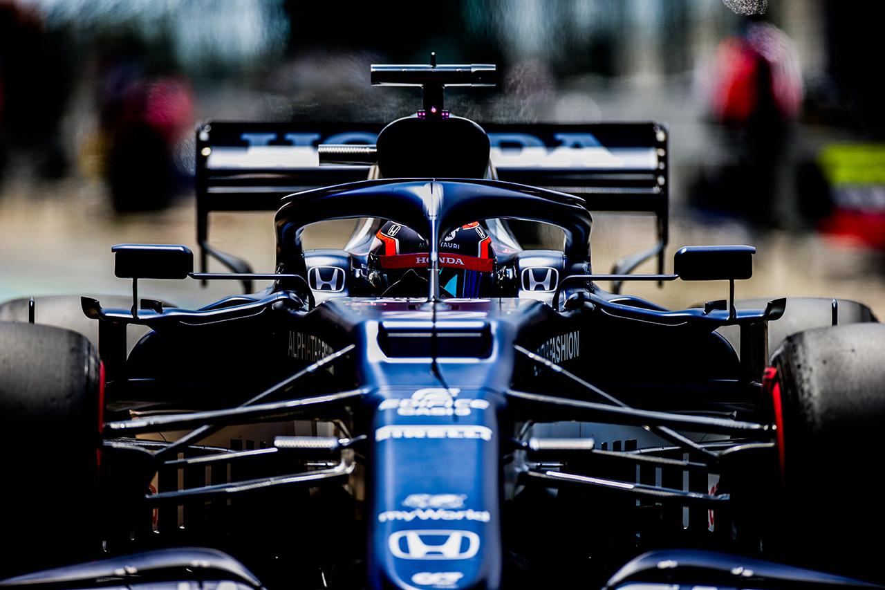 アルファタウリ・ホンダF1 「角田裕毅の得意のオーバーテイクに期待」 / F1ポルトガルGP 予選