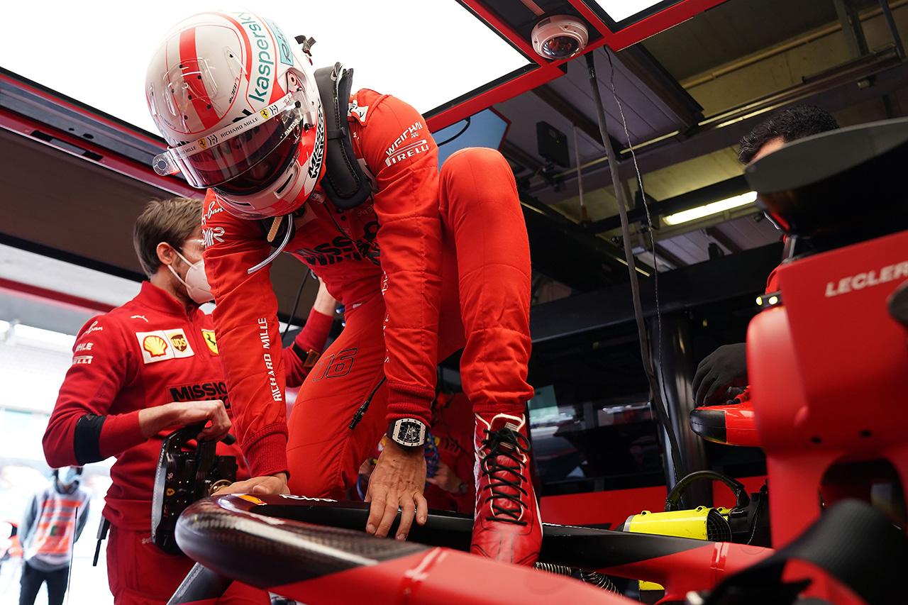 シャルル・ルクレール 「ミディアムスタートが有利になることに期待」 / フェラーリ F1ポルトガルGP 予選