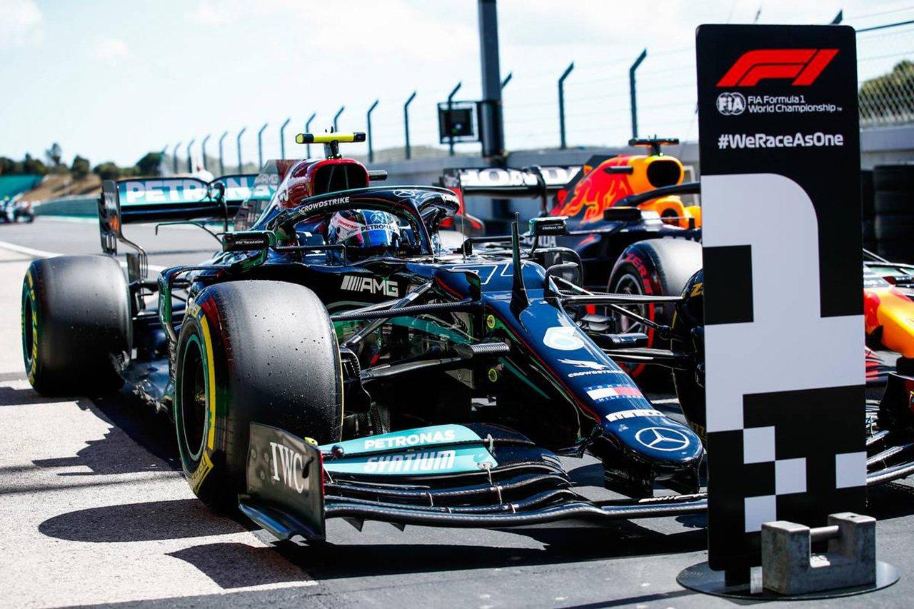 2021年 F1ポルトガルGP 決勝:スターティンググリッド