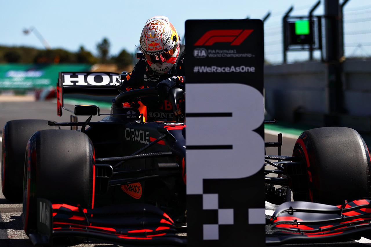 レッドブル・ホンダF1代表 「ミディアムでの2列目は戦略の幅が広がる」 / F1ポルトガルGP 予選