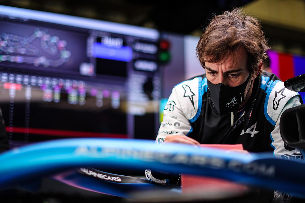 フェルナンド・アロンソ 「ポイントが付与されるのは明日。まだ勝負できる」 / アルピーヌ F1ポルトガルGP 予選